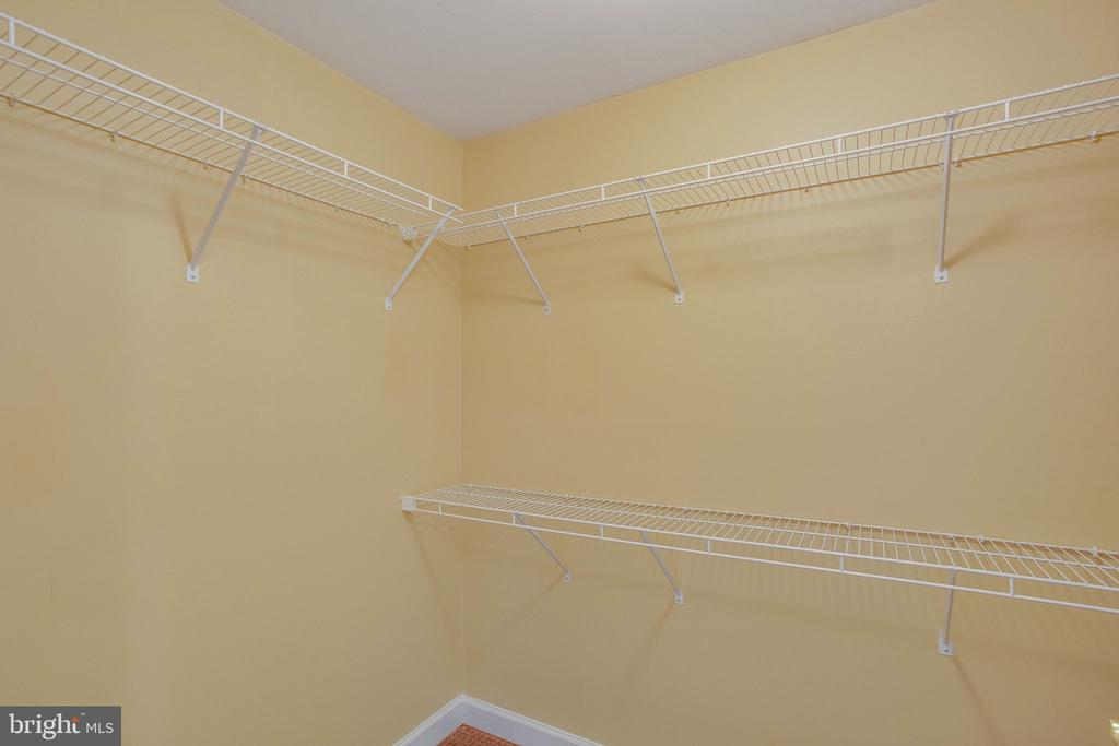 Second walk-in closet in owners suite - 485 HARBOR SIDE ST #911, WOODBRIDGE
