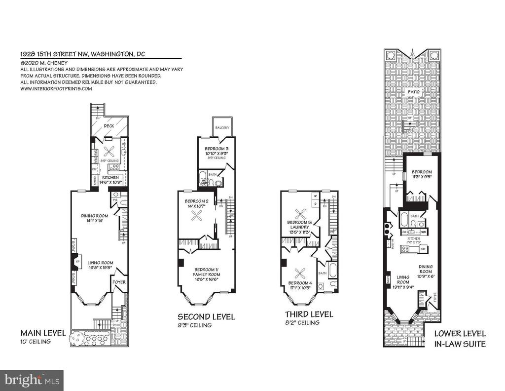 Floor Plans - 1928 15TH ST NW, WASHINGTON