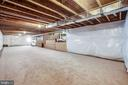 Roughed in bath and bar. Imagine the possibilities - 400 CONEFLOWER LN, STAFFORD
