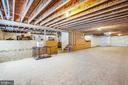 HUGE BASEMENT! Waiting for your finishing touches - 400 CONEFLOWER LN, STAFFORD
