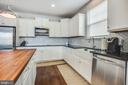 Upgraded kitchen with stainless steel appliances - 400 CONEFLOWER LN, STAFFORD