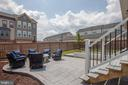 Well designed backyard, access to basement - 400 CONEFLOWER LN, STAFFORD