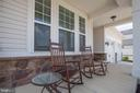 The front porch you have been looking for - 400 CONEFLOWER LN, STAFFORD
