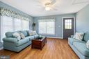 SUNROOM WITH EXIT TO THE SIDE OF HOUSE - 228 ROCK HILL CHURCH RD, STAFFORD