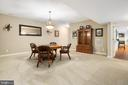 SPACIOUS FINISHED BASEMENT - 228 ROCK HILL CHURCH RD, STAFFORD