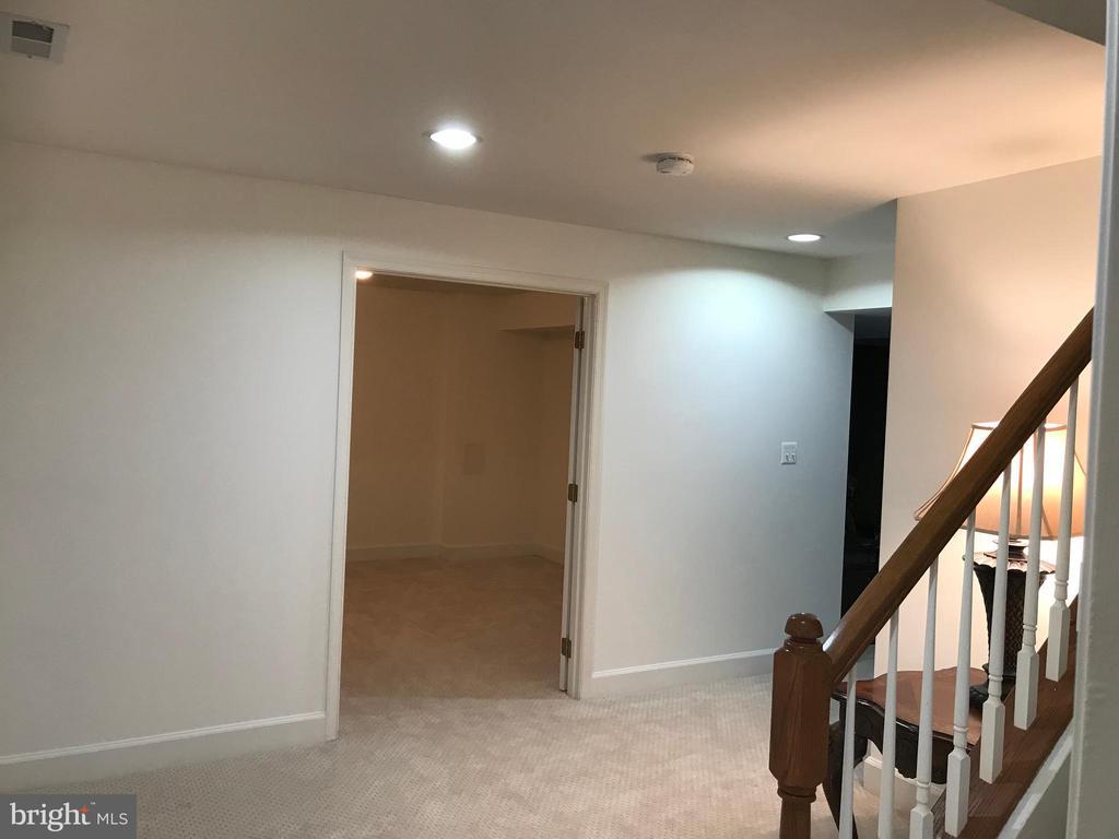 Large basement landing with exercise room on left - 11079 SANANDREW DR, NEW MARKET
