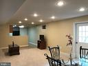 Large basement Rec room, with dining area - 11079 SANANDREW DR, NEW MARKET