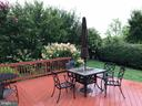Back yard with flowering trees - 11079 SANANDREW DR, NEW MARKET