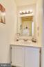 Half Bathroom - 21121 FIRESIDE CT, STERLING