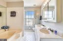 Full Bathroom in Masterbedroom - 21121 FIRESIDE CT, STERLING