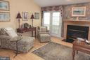 Family Room features one of 2 gas fireplaces - 4301 CIDER BARREL CT, FREDERICKSBURG