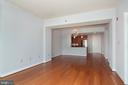Open  space as seen  from balcony area - 5750 BOU AVE #1508, NORTH BETHESDA