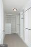 Walk-in closets - 5750 BOU AVE #1508, NORTH BETHESDA