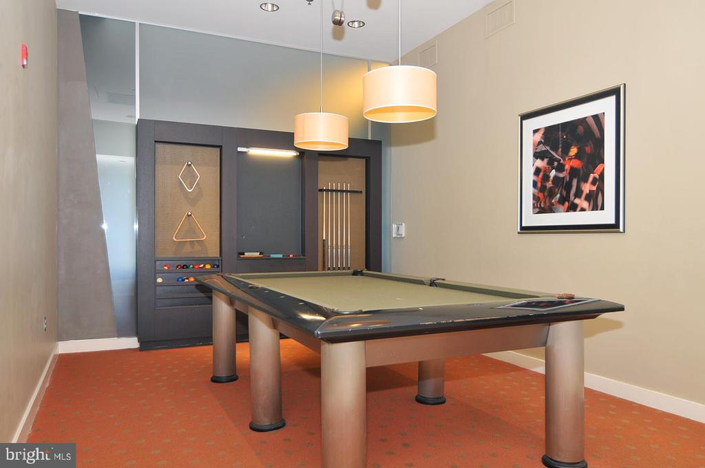 Pool room - 5750 BOU AVE #1508, NORTH BETHESDA