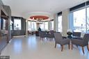 Lobby, tv area - 5750 BOU AVE #1508, NORTH BETHESDA