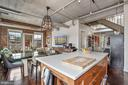 Large Island for cooking and entertaining. - 916 G ST NW #1004, WASHINGTON