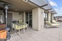 Private balcony - 916 G ST NW #1004, WASHINGTON