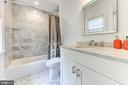 En-suite bathroom #3 - 4522 CHELTENHAM DR, BETHESDA