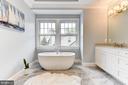 Relax in the soaking tub - 4522 CHELTENHAM DR, BETHESDA