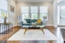 Living room - 4522 CHELTENHAM DR, BETHESDA