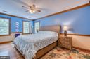 Master Bedroom: Crown Molding, Chair Rail, Wd Flrg - 3256 TITANIC DR, STAFFORD