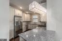 Chandelier conveys! - 23305 MILLTOWN KNOLL SQ #112, ASHBURN
