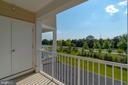 Another view from balcony! - 23305 MILLTOWN KNOLL SQ #112, ASHBURN
