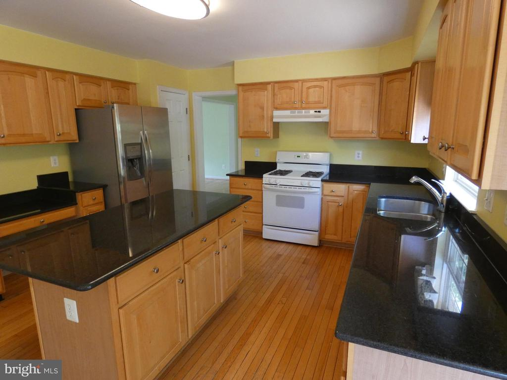 Kitchen view from breakfast area - 43114 LLEWELLYN CT, LEESBURG
