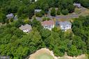 Aerial View - 3714 FAIRWAYS CT, FREDERICKSBURG