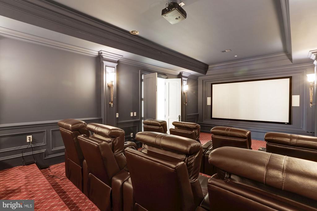 Home Theater - 9305 INGLEWOOD CT, POTOMAC