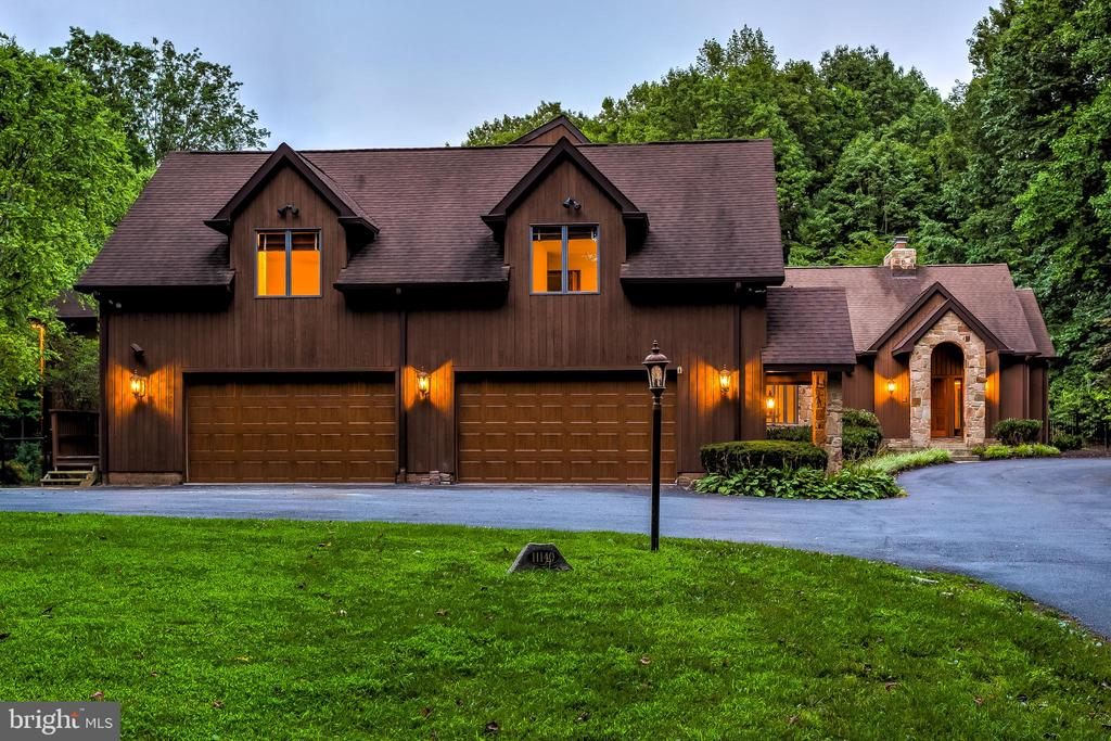 Twilight Exterior - 11140 HOMEWOOD RD, ELLICOTT CITY