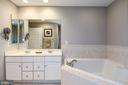 Master Bathroom - 605 7TH ST SW, WASHINGTON