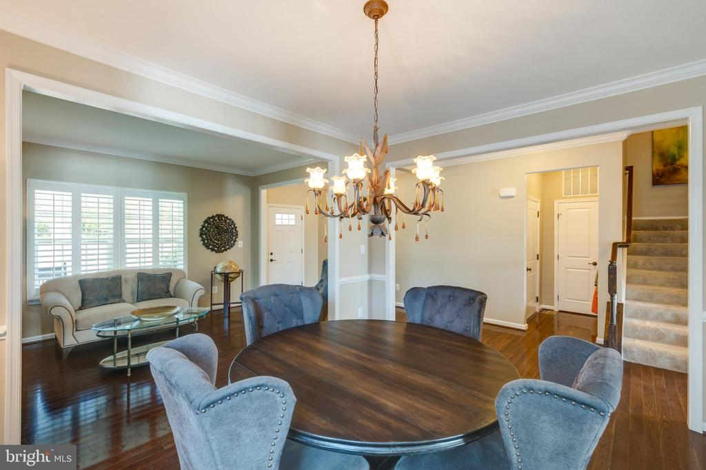 Dining Room - 25821 RACING SUN DR, ALDIE