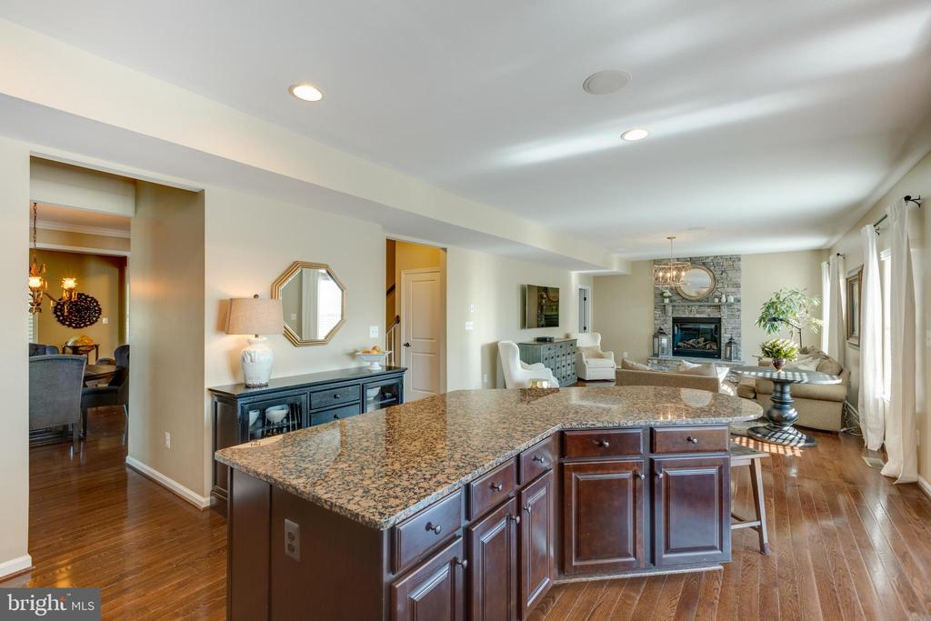 Open floor plan! - 25821 RACING SUN DR, ALDIE