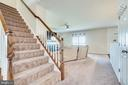 Main Level Stairs - 4242 MEYERS RD, TRIANGLE