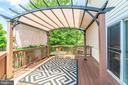 Pergola - 4242 MEYERS RD, TRIANGLE