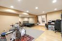 Basement music room - 43378 COTON COMMONS DR, LEESBURG