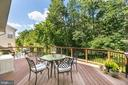 view from deck - 43378 COTON COMMONS DR, LEESBURG