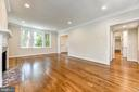 Stunning red oak hardwood floors - 4401 GARRISON ST NW, WASHINGTON