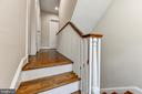 Upper level landing - 4401 GARRISON ST NW, WASHINGTON