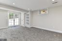Bedroom #4 - lower level with private extrance - 4401 GARRISON ST NW, WASHINGTON