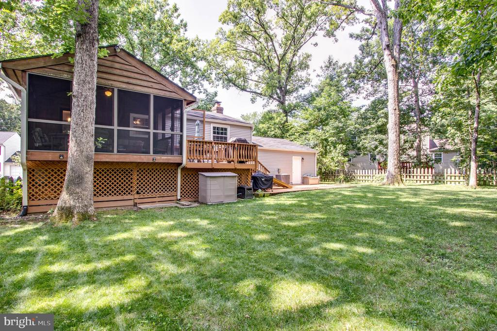 Wonderful yard - 103 APPLEGATE DR, STERLING