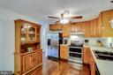 Lots of room for all of the chefs in the home. - 103 APPLEGATE DR, STERLING