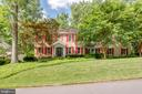 Front of Home -CulDeSac, New Sod, & Mature Trees - 1960 BARTON HILL RD, RESTON