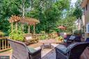 Private 42 ft Deck, Flagstone Pavers - 1960 BARTON HILL RD, RESTON