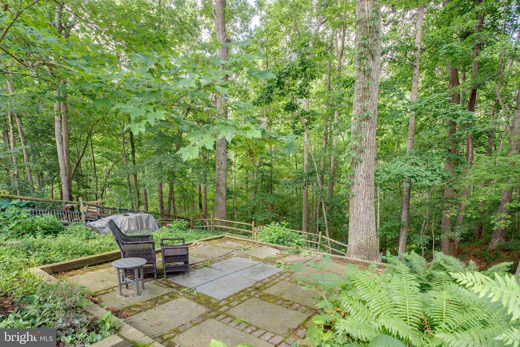 Very Private Backyard, Backs to Green Space - 1960 BARTON HILL RD, RESTON