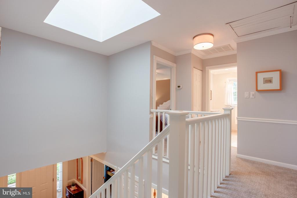 Skylight Upper level - 1960 BARTON HILL RD, RESTON