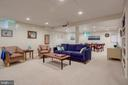 Lower Level Recreation Room - 1960 BARTON HILL RD, RESTON
