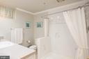 Lower Level Full Bathroom with Walk In Shower (4) - 1960 BARTON HILL RD, RESTON