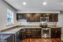 kitchen with granite and stainless steel - 6 S POINTE LN, FREDERICKSBURG